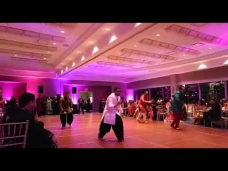 Bollywood wedding performance by groom's friends - YouTube