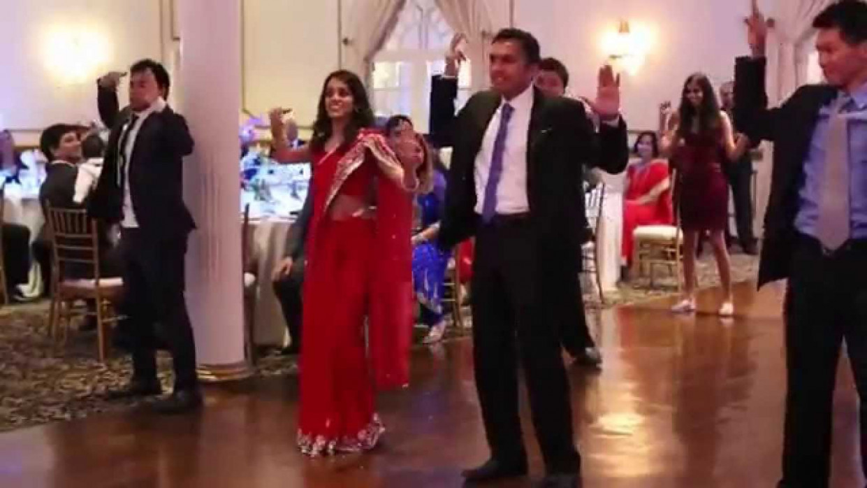 Bollywood Wedding Reception Entrance Dance - Toronto - YouTube