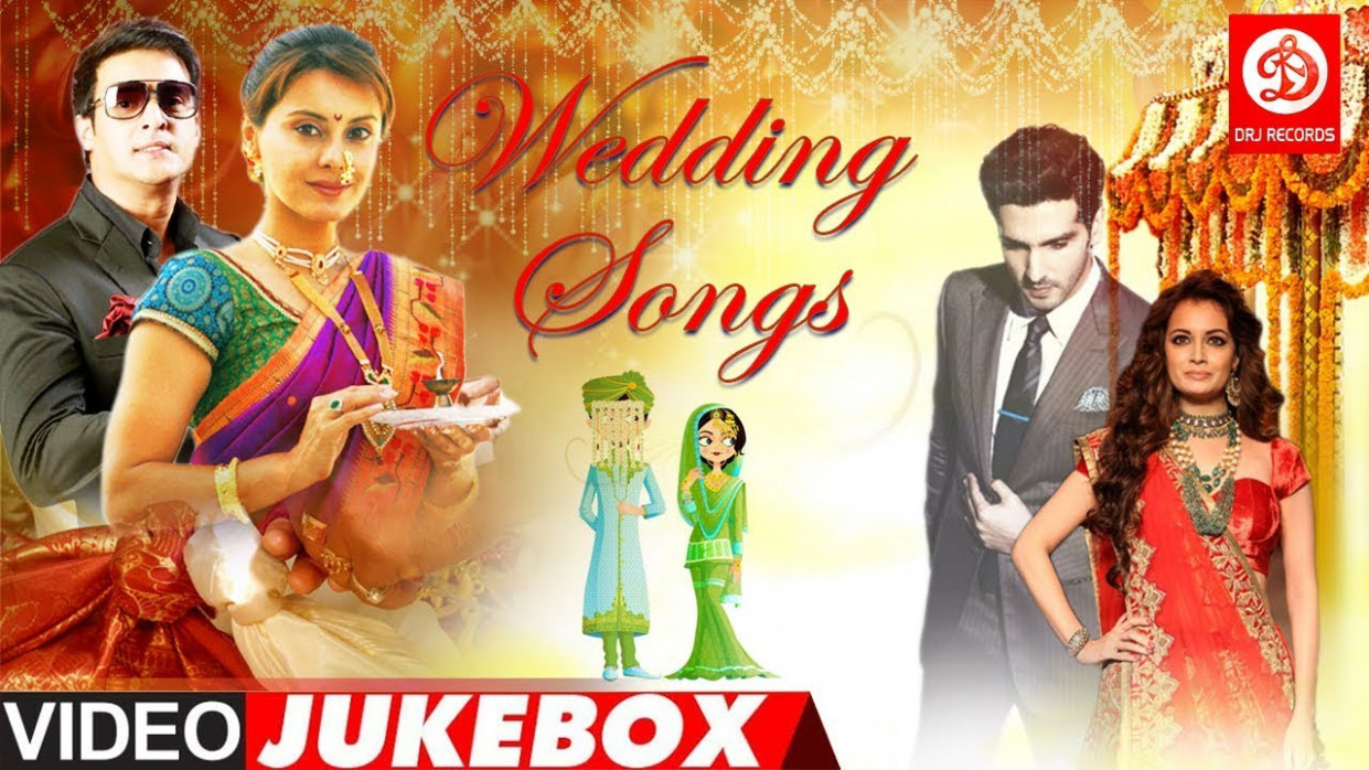 Bollywood Wedding Songs Video Jukebox - Non Stop Hindi ...