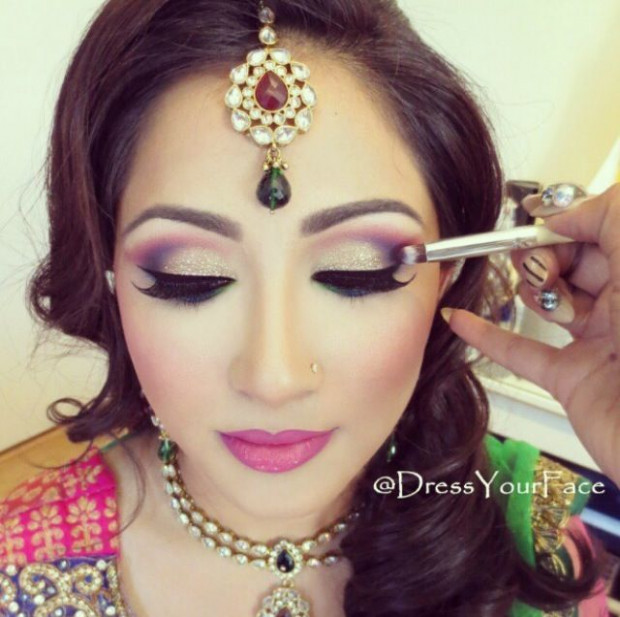 Bollywood wedding, Wedding makeup and Bollywood on Pinterest