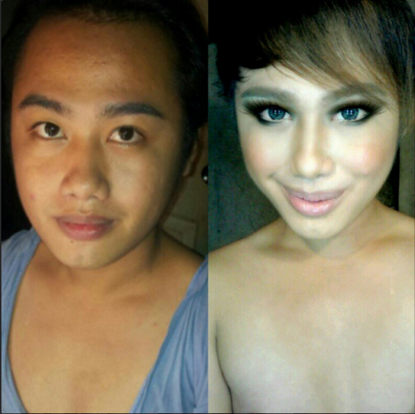 Boy To Girl Makeup Transformation India | Makeupview.co