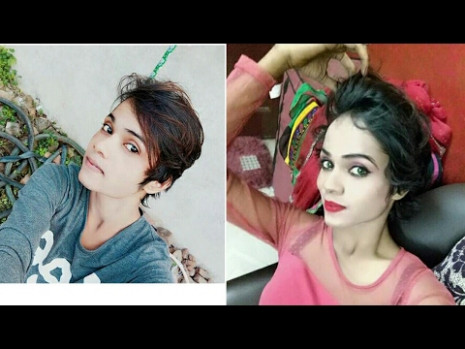 Boy To Girl || makeup transformation - YouTube