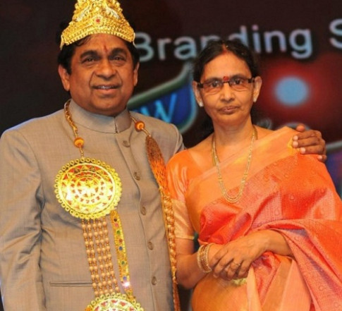 Brahmanandam family photos | Celebrity family wiki