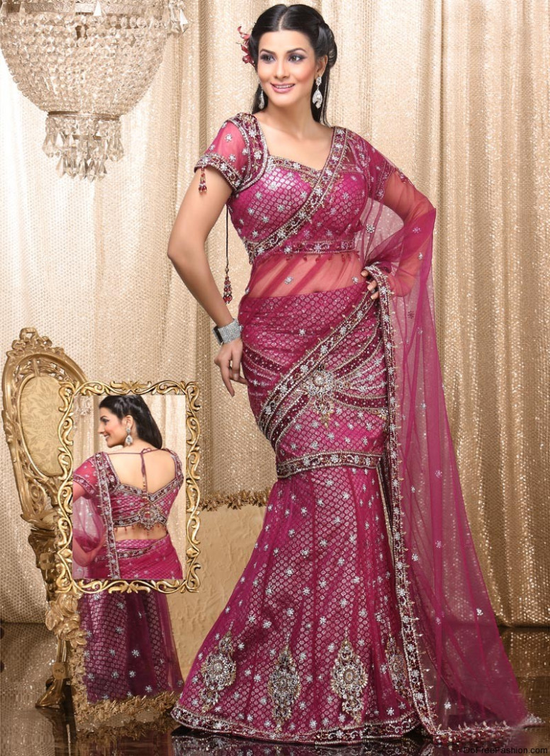 Bridal | Eastern Bridal Wear | Indian Sarees Wearing ...