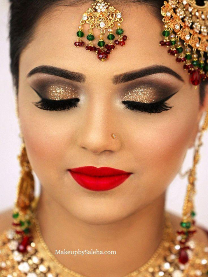 Bridal Eye Makeup Indian | Eye makeup