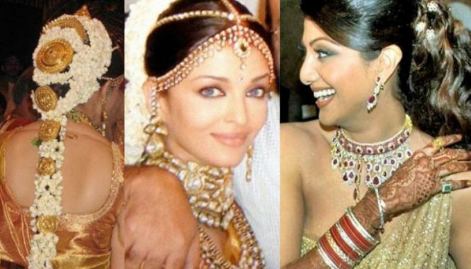 Bridal Hairstyles Of Bollywood Actresses That You Can Try ...