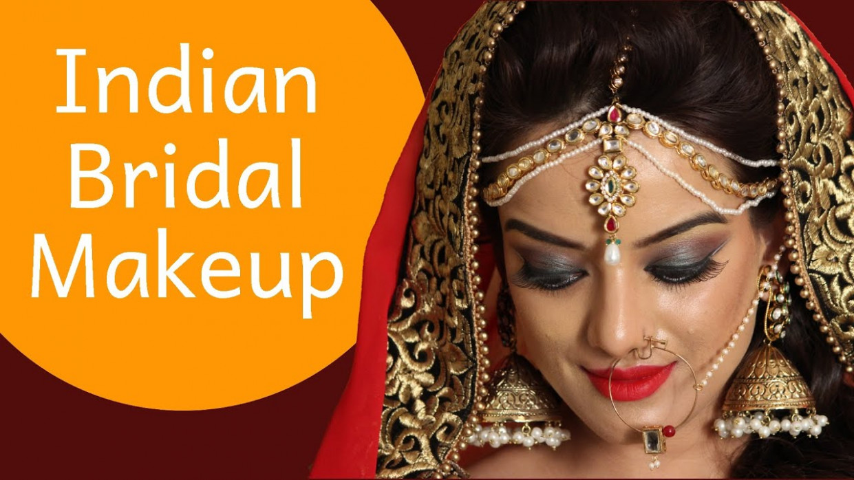 Bridal Makeup - Contemporary Indian Bridal Look - YouTube