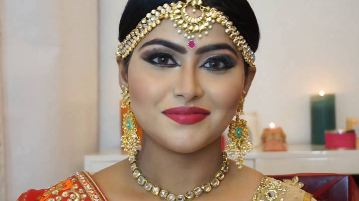 BRIDAL MAKEUP TUTORIAL/ INDIAN BRIDE / ASIAN BRIDAL MAKEUP ...