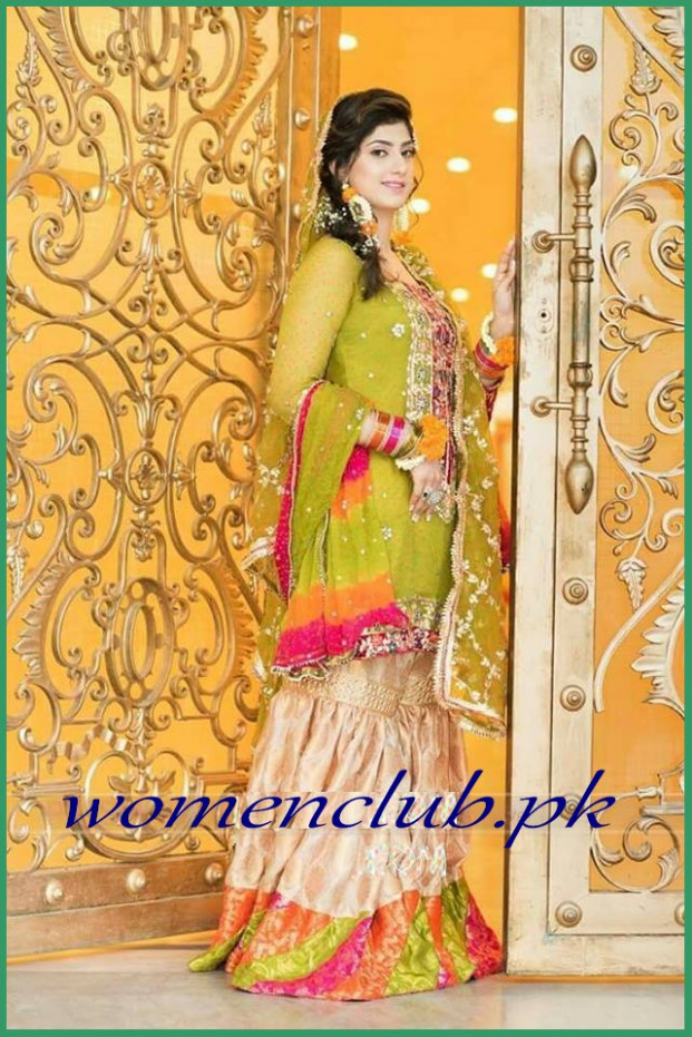 Bridal Mehndi Dresses 2018 Facebook - Wedding Dresses In ...