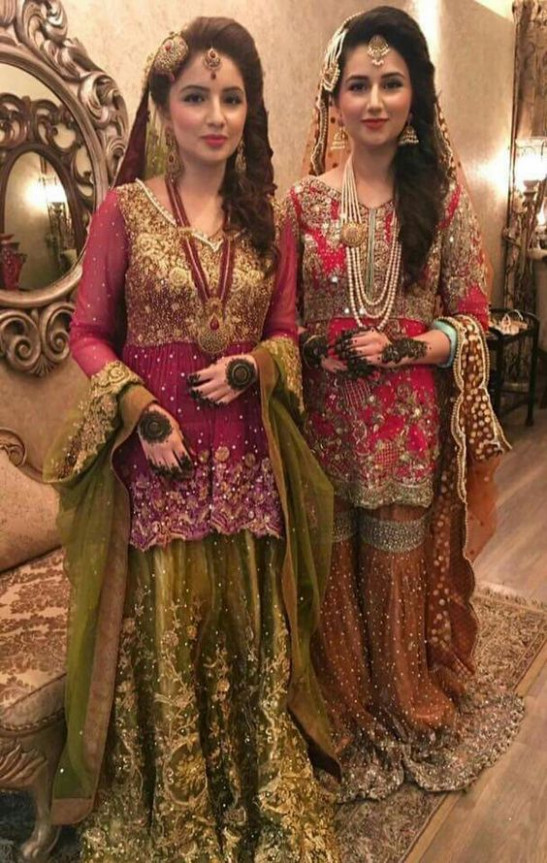 bridal mehndi dresses designs | Wedding ️ in 2018 ...