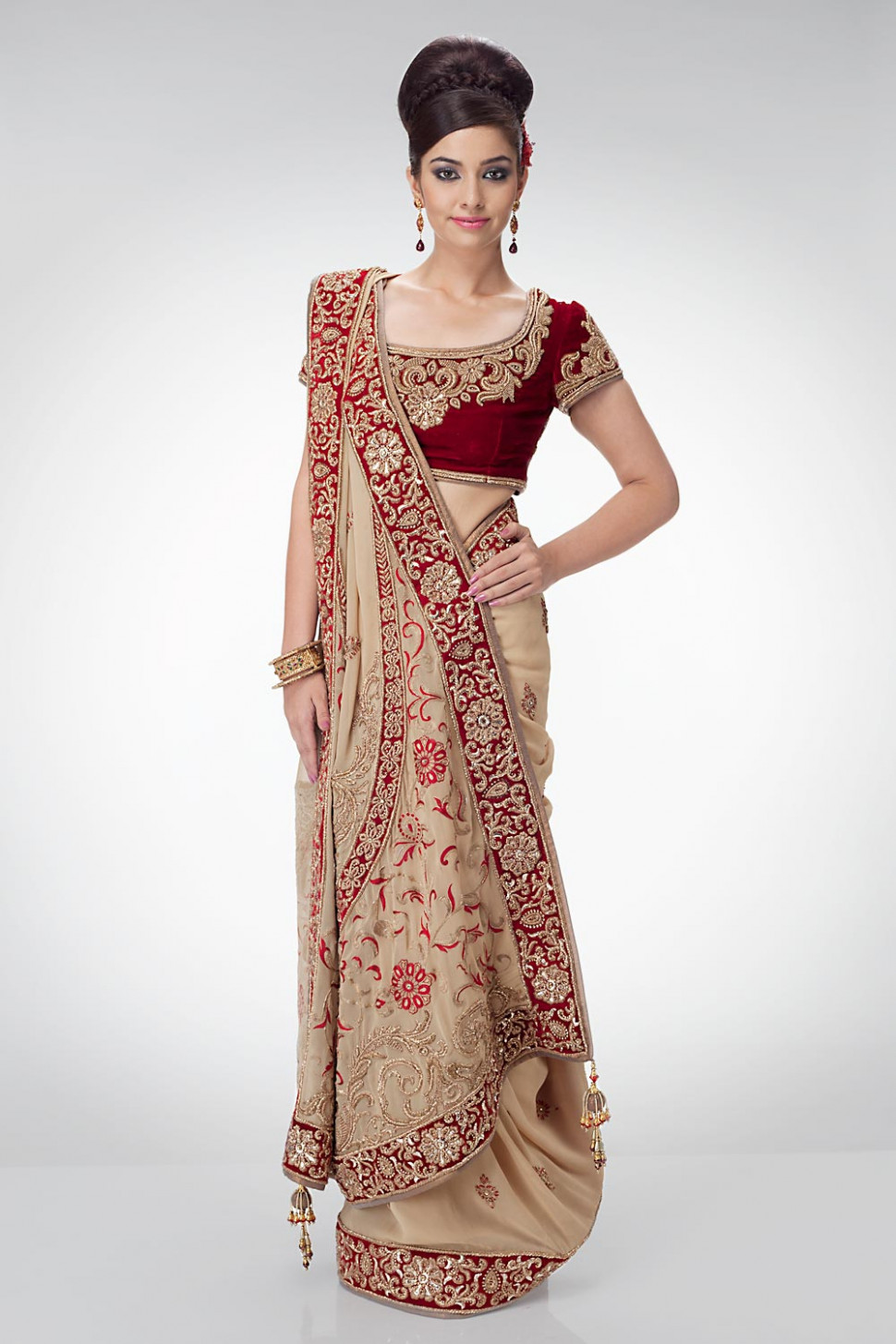Bridal Sarees | Indian Bridal Sarees | Bridal Sarees for ...