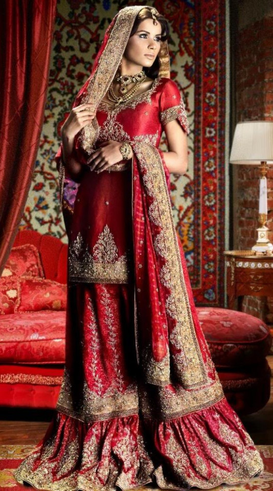 Bridal Wear For Indian Ladies | Bollywood Gallery