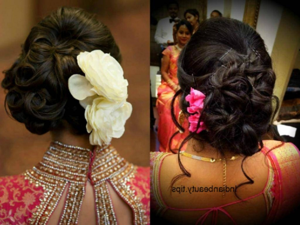 Bun Hairstyle For Indian Wedding - HairStyles