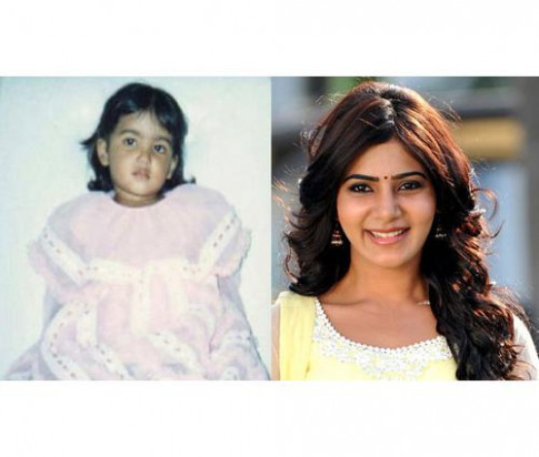 Childhood Pictures Of Indian Actresses