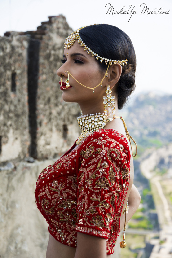 Classic North Indian Bridal Look