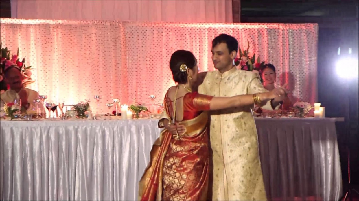 Crazy wedding bollywood first dance video - YouTube