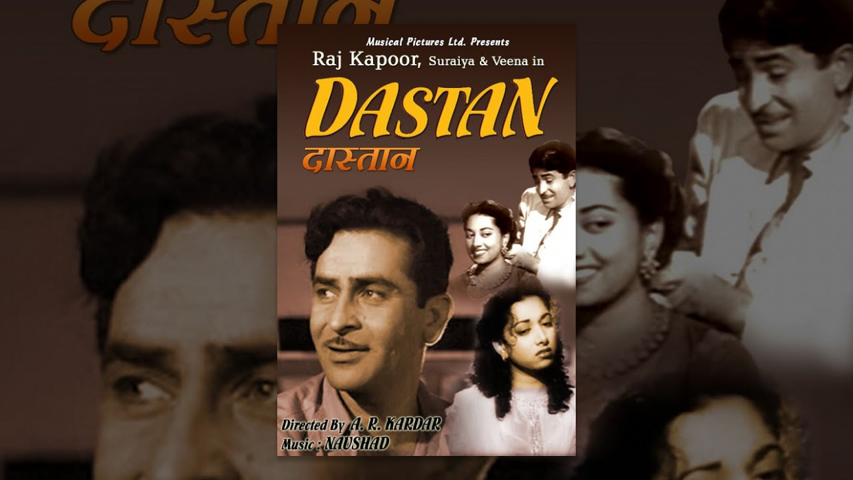 Dastan (1950) - Raj Kapoor, Suraiya | Full Bollywood Hindi ...