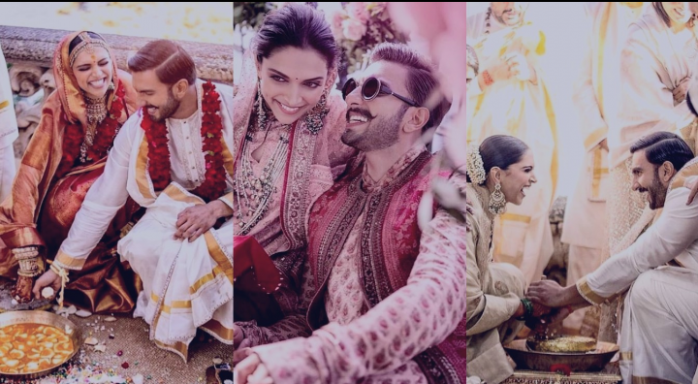 Deepika Ranveer wedding - Couple share their wedding ...