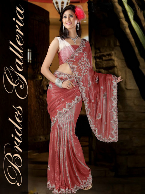 Designer Saree in Punjabi Bagh, New Delhi - Brides Galleria - bollywood designer saree new delhi delhi