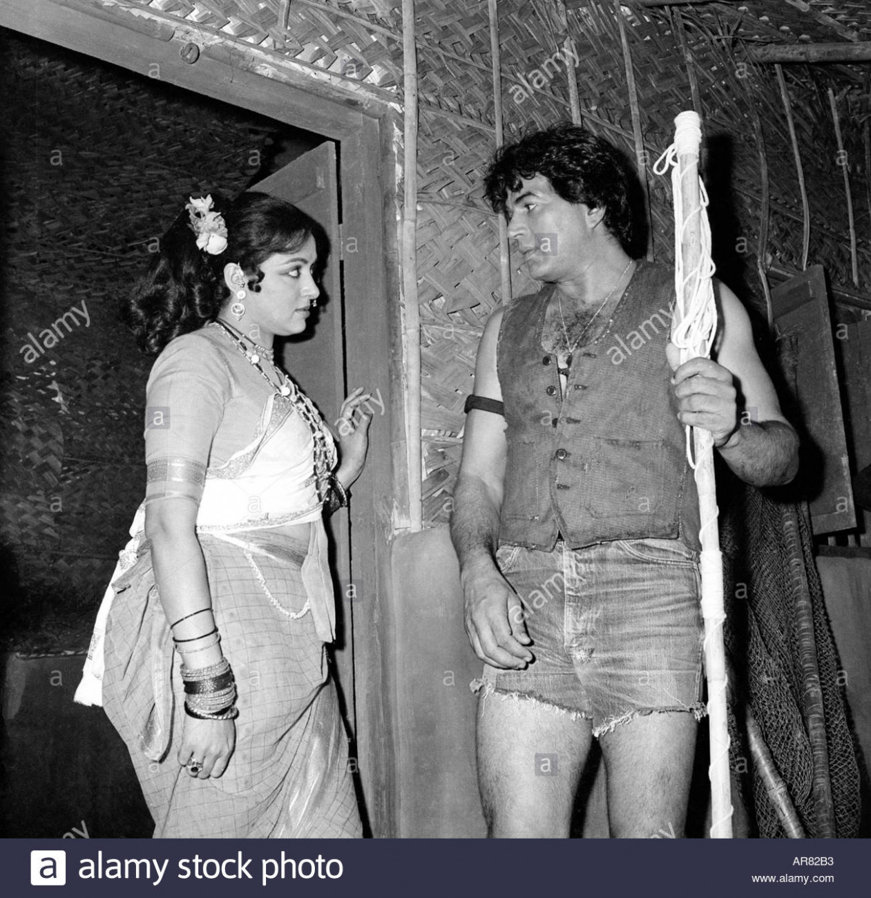Dharmendra and Hema Malini Indian film stars actor and ...
