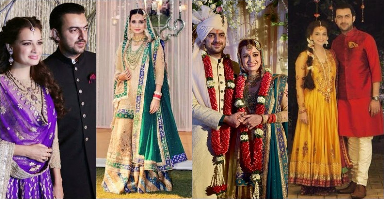 Diya Mirza Wedding Pictures - Bollywood Actress - Virtual ...