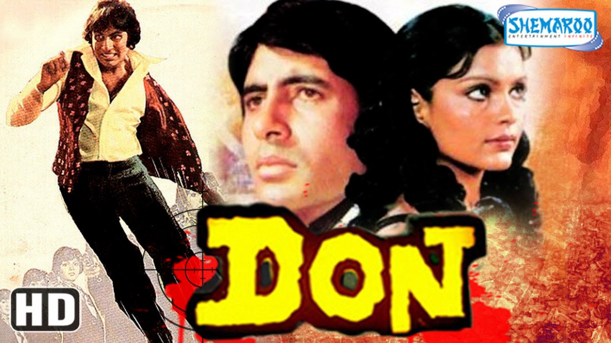 Don HD - Amitabh Bachchan - Zeenat Aman - Superhit Old ...