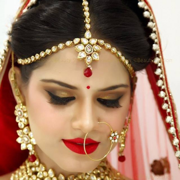 Download Indian Bridal Makeup Wallpapers Gallery