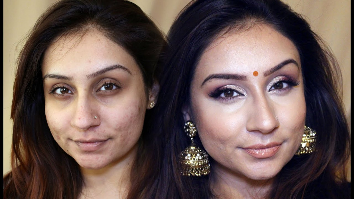Drugstore Indian Bollywood Party Makeup Brown skin makeup ...