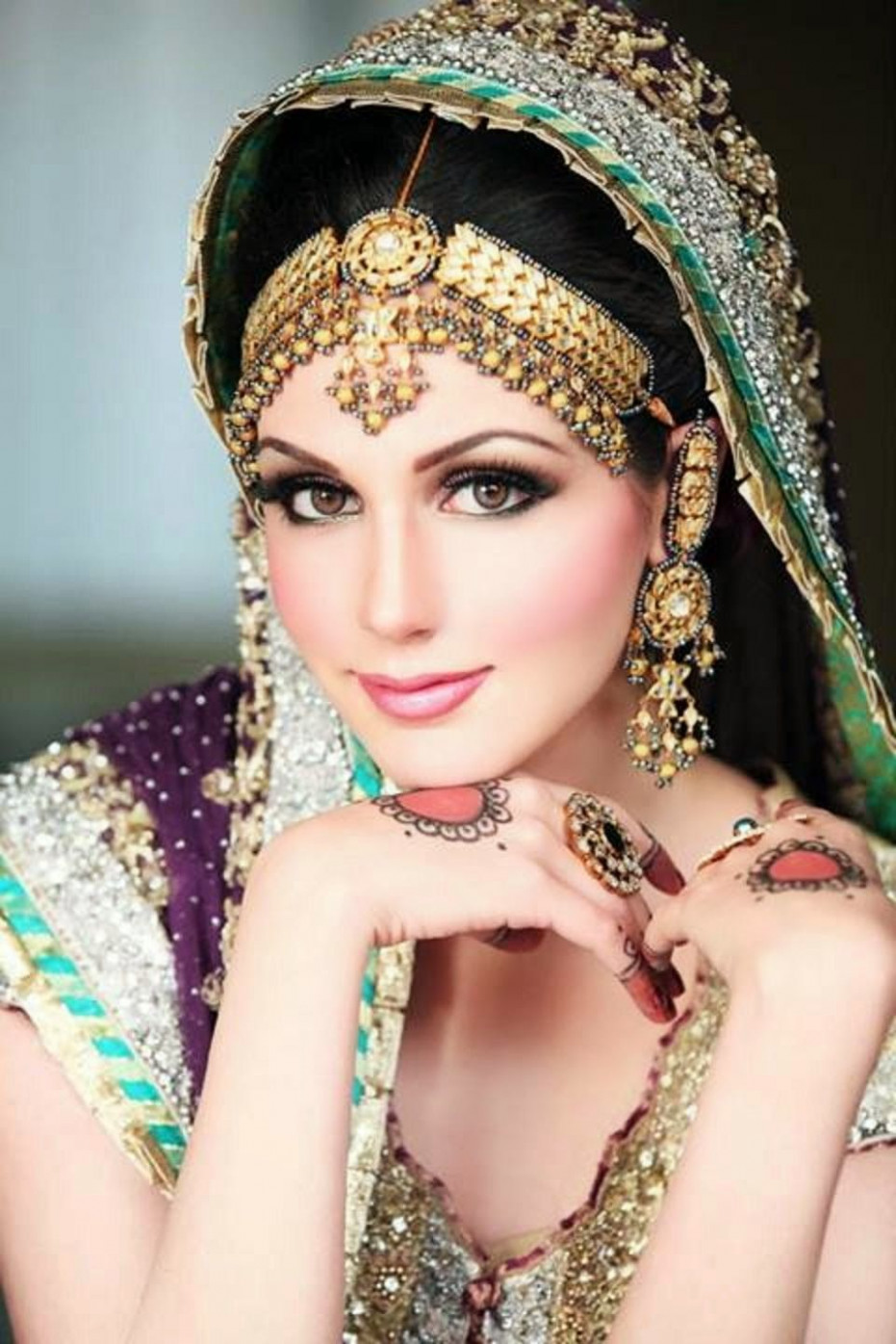 dulhan Makeup Ideas 2014 For Girls HD Wallpapers Free ...