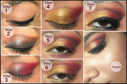 Dulhan makeup step by step | Pictures and video
