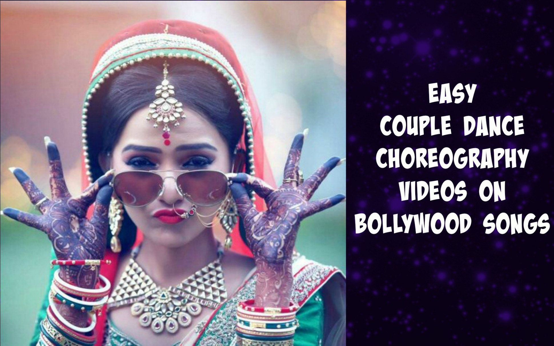 Easy couple dance choreography videos on bollywood songs ...