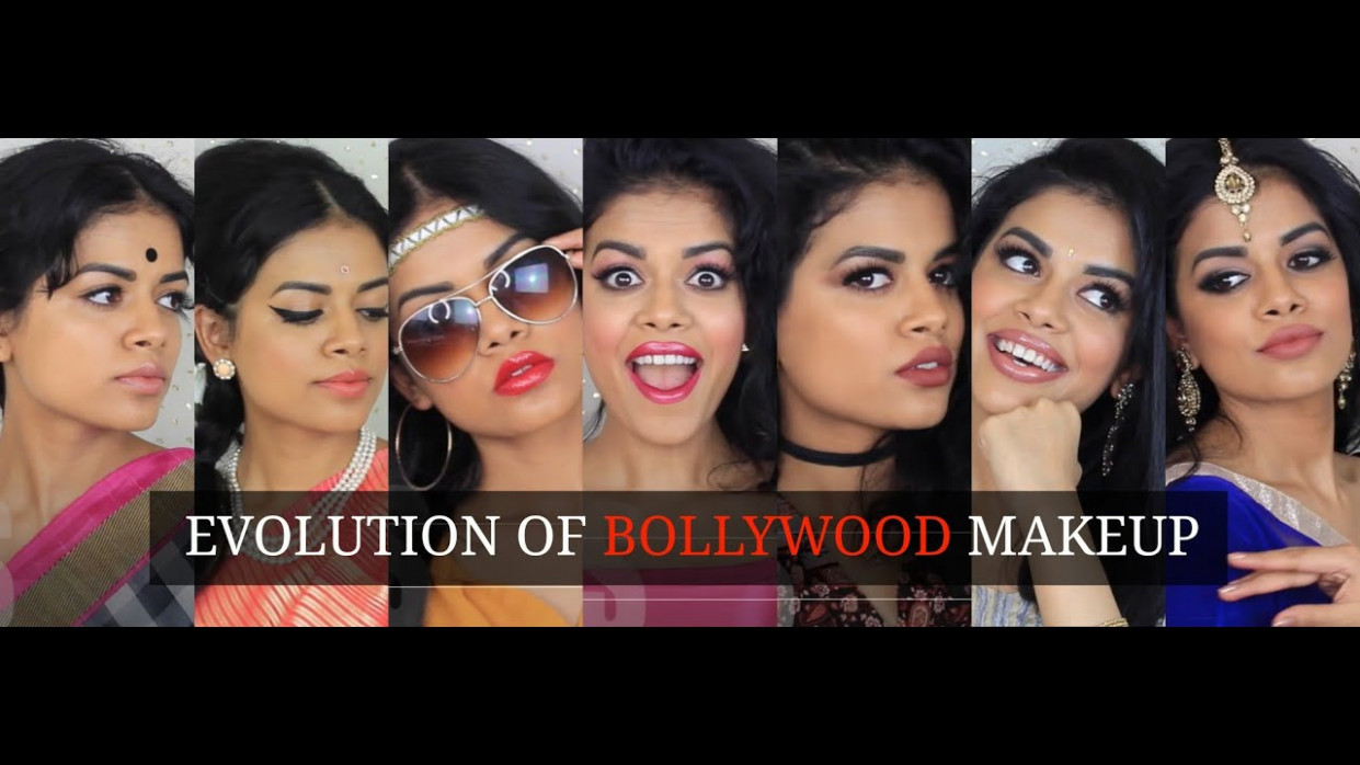Evolution of Bollywood Makeup - YouTube