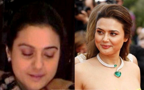 Exclusive Pics - All Bollywood Actresses With/Without Makeup