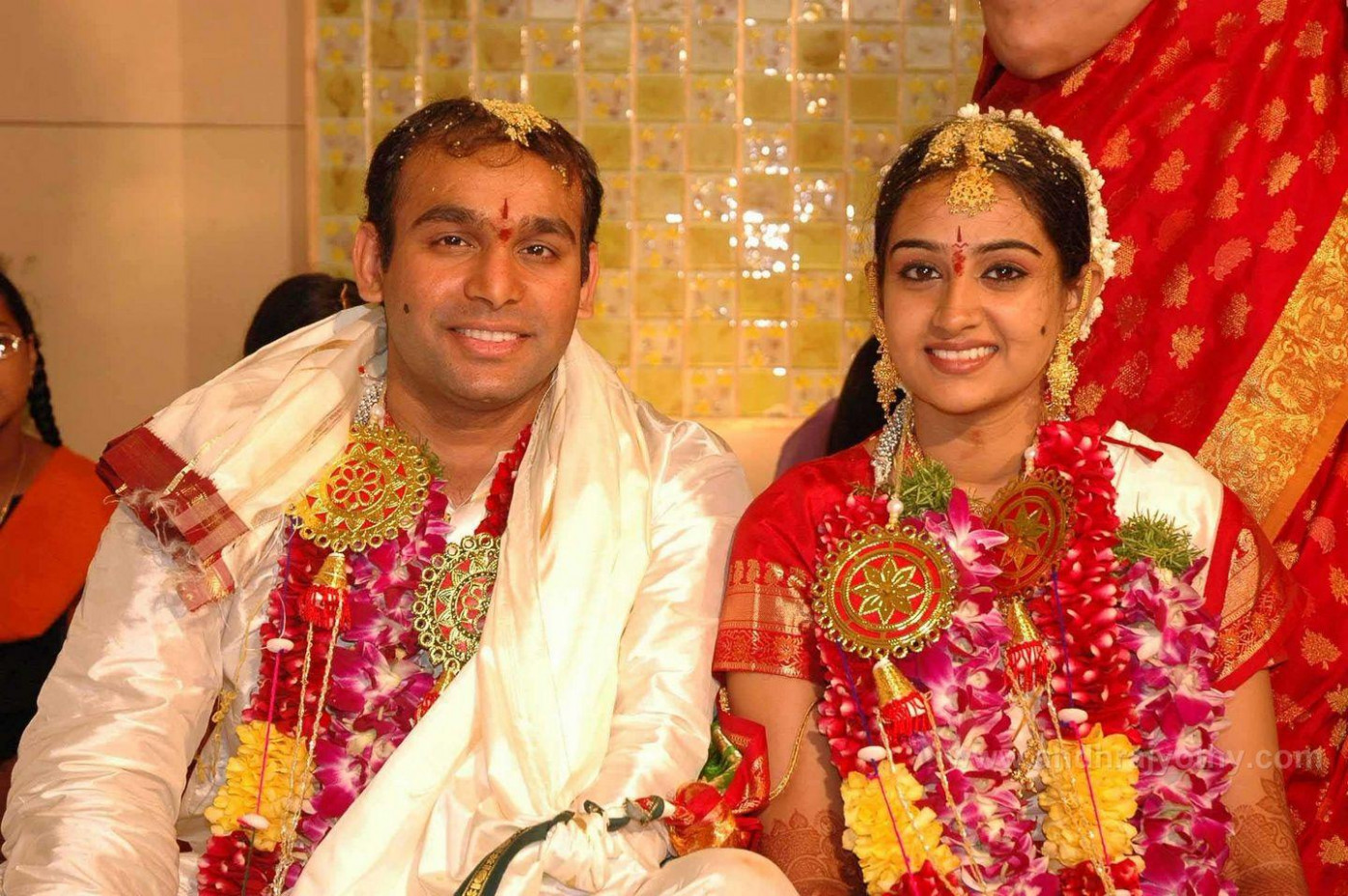 Famous Telugu Actress Marriage Photos