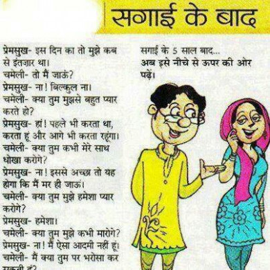 Funny Indian Marriage Joke | Funny Pictures Blog, Hindi ...