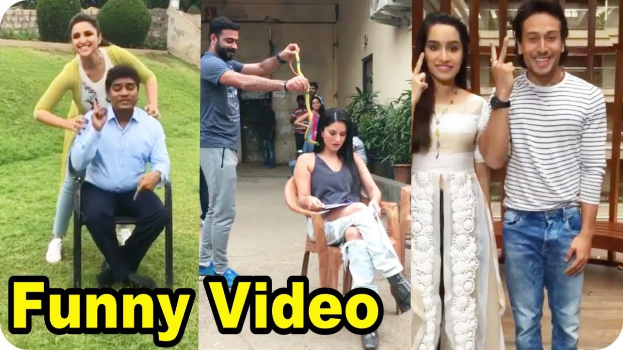 Funny Video Clips Bollywood Movie Actress Full Prank and ...