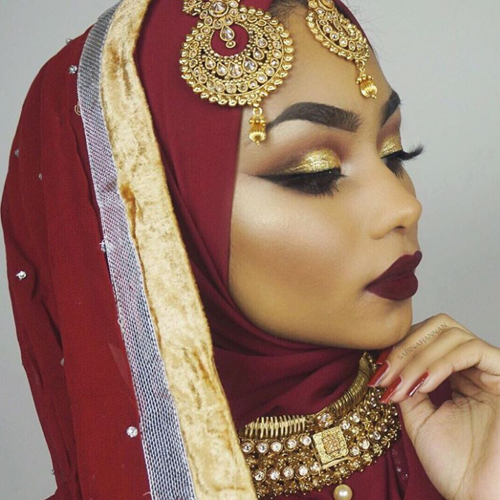 Get The Look: Sabina Hannan Indian Bridal Makeup Look ...