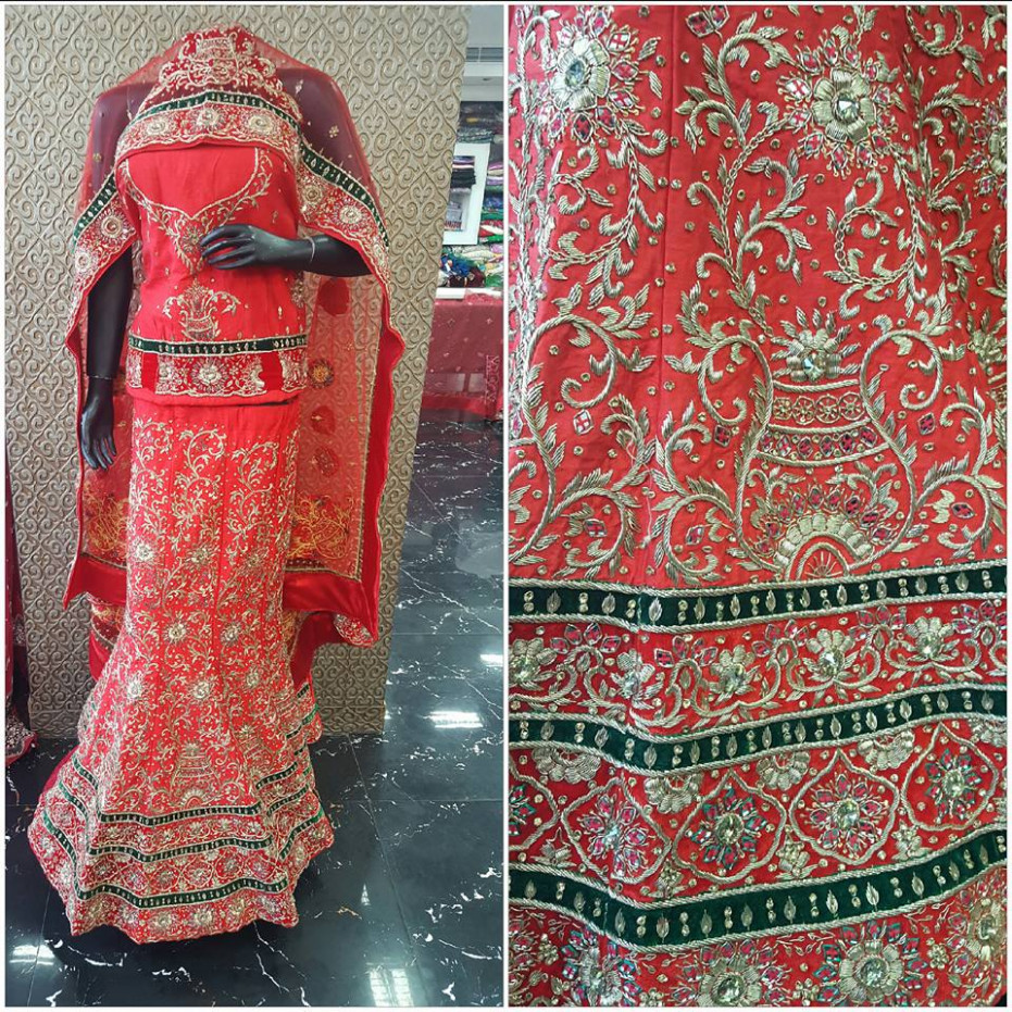 Ghunghat | Search Designer Bridal Lehenga Online India ...