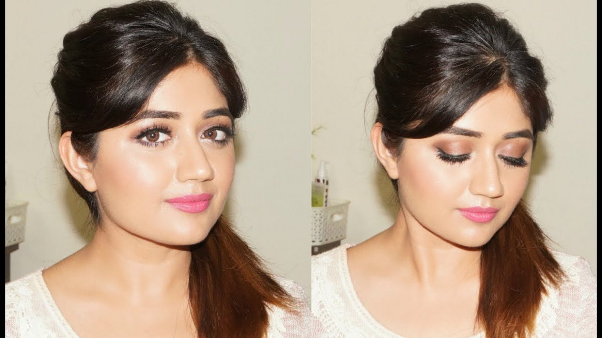Glamorous Natural Makeup Tutorial for Indian Skin ...