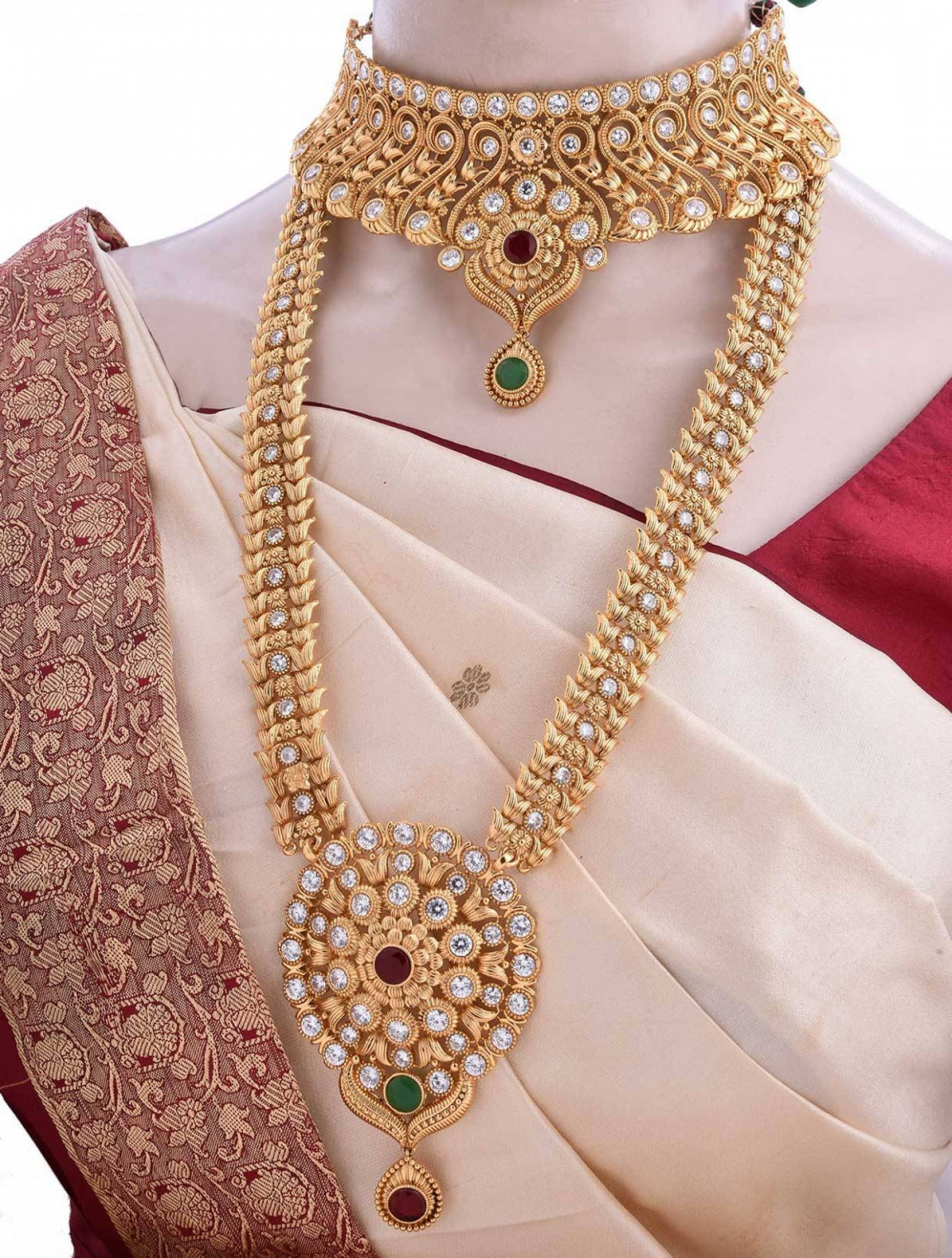 Gold Elegant Wedding Jewelry Sets | KSVHS Jewellery