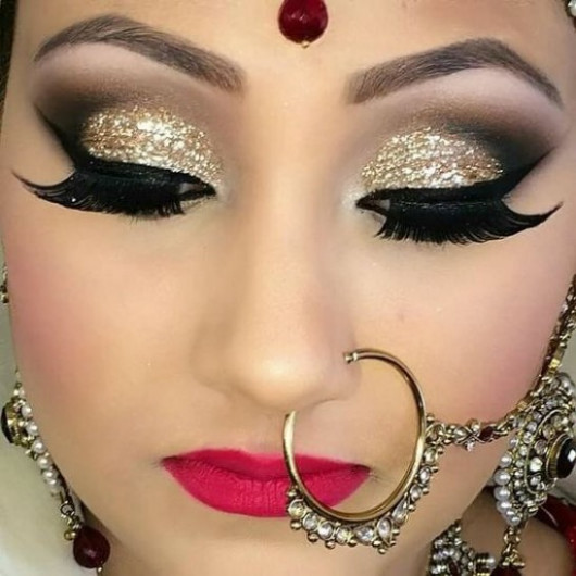 Gorgeous Bridal Eye Makeup