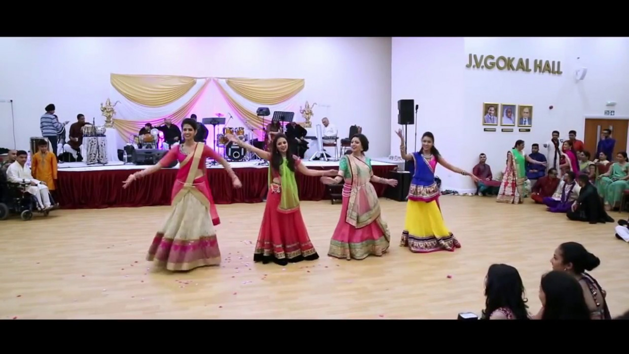 Groom Family Sangeet Dance Performance 2018 || Bollywood ...
