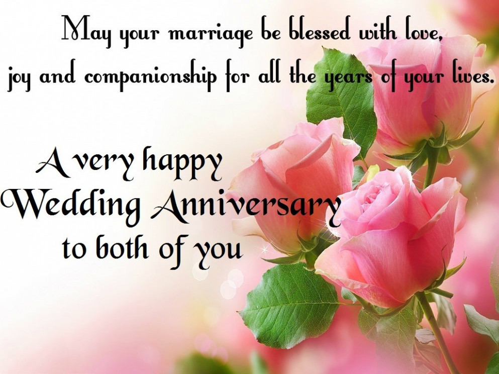 Happy Wedding Anniversary images - Wishes & Love