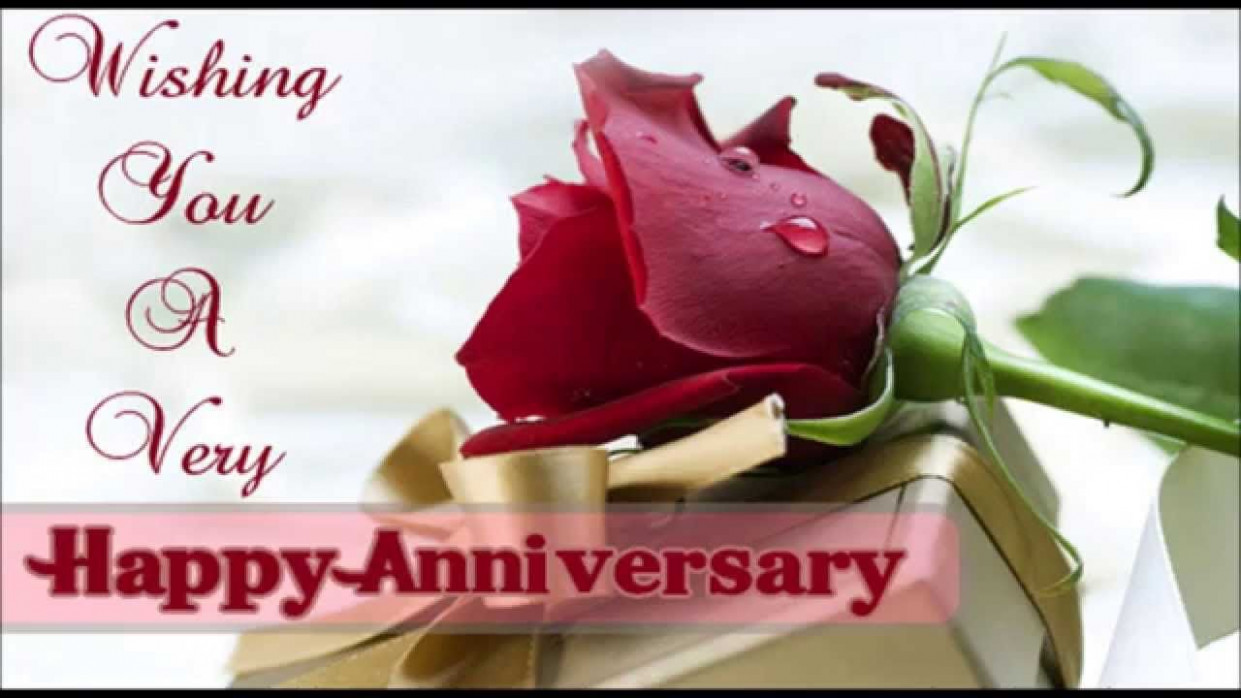 Happy Wedding Anniversary SMS – Short Anniversary Messages ...