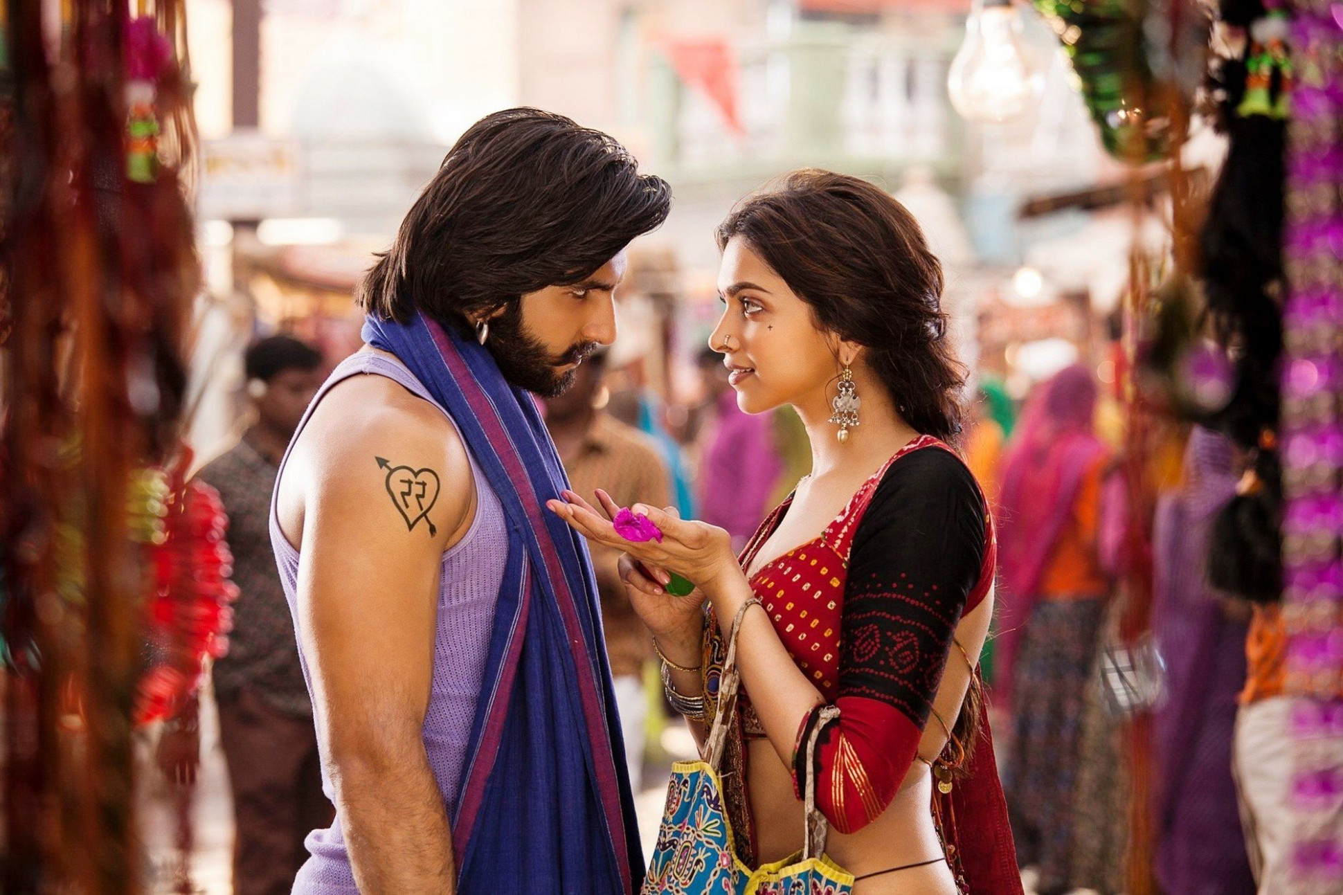 Hindi Picture Film Ram Leela Hero Ranveer Singh and ...