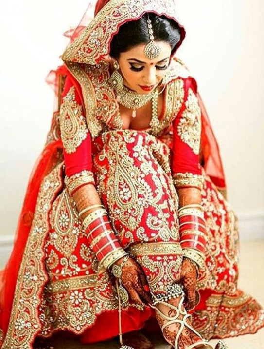 Hindu Wedding Dresses Bride | www.pixshark.com - Images ...