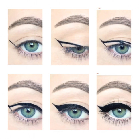 How To Do Cat Eye Makeup Step By Step - Mugeek Vidalondon