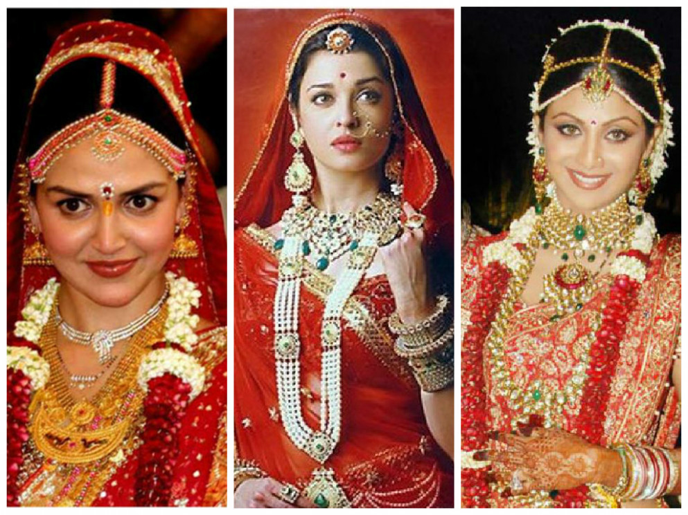 How to Dress Like a Bollywood Bride on Your Wedding ...