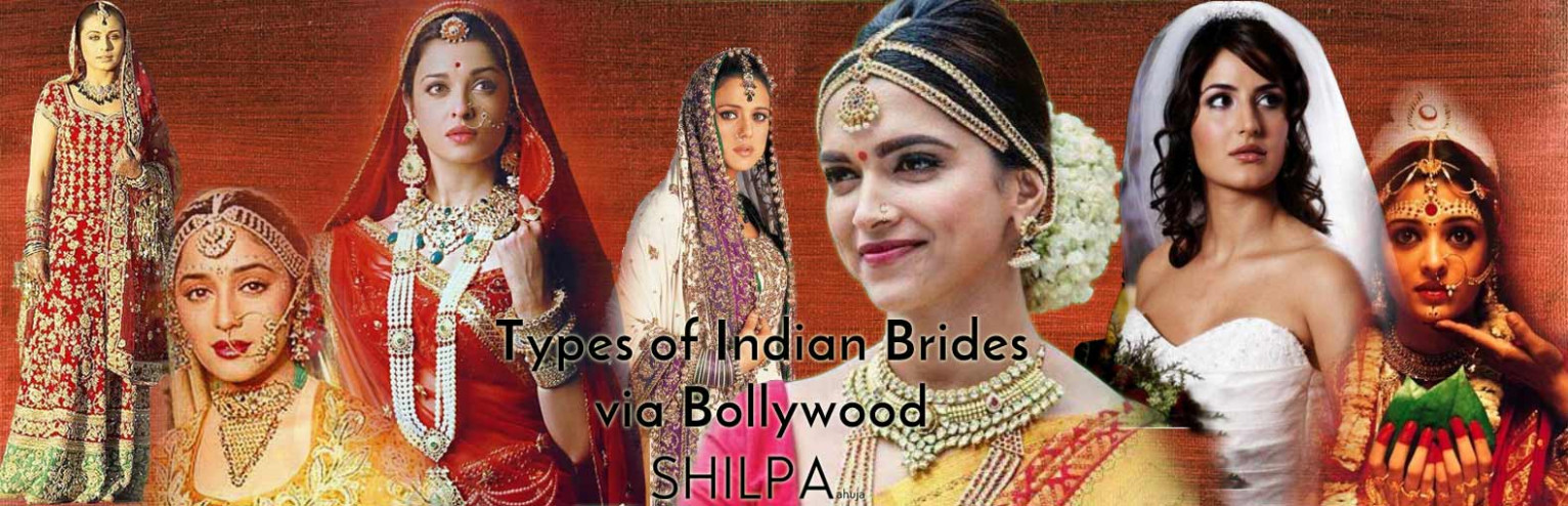 Iconic Indian Bollywood Bridal Dresses | Types of Indian ...