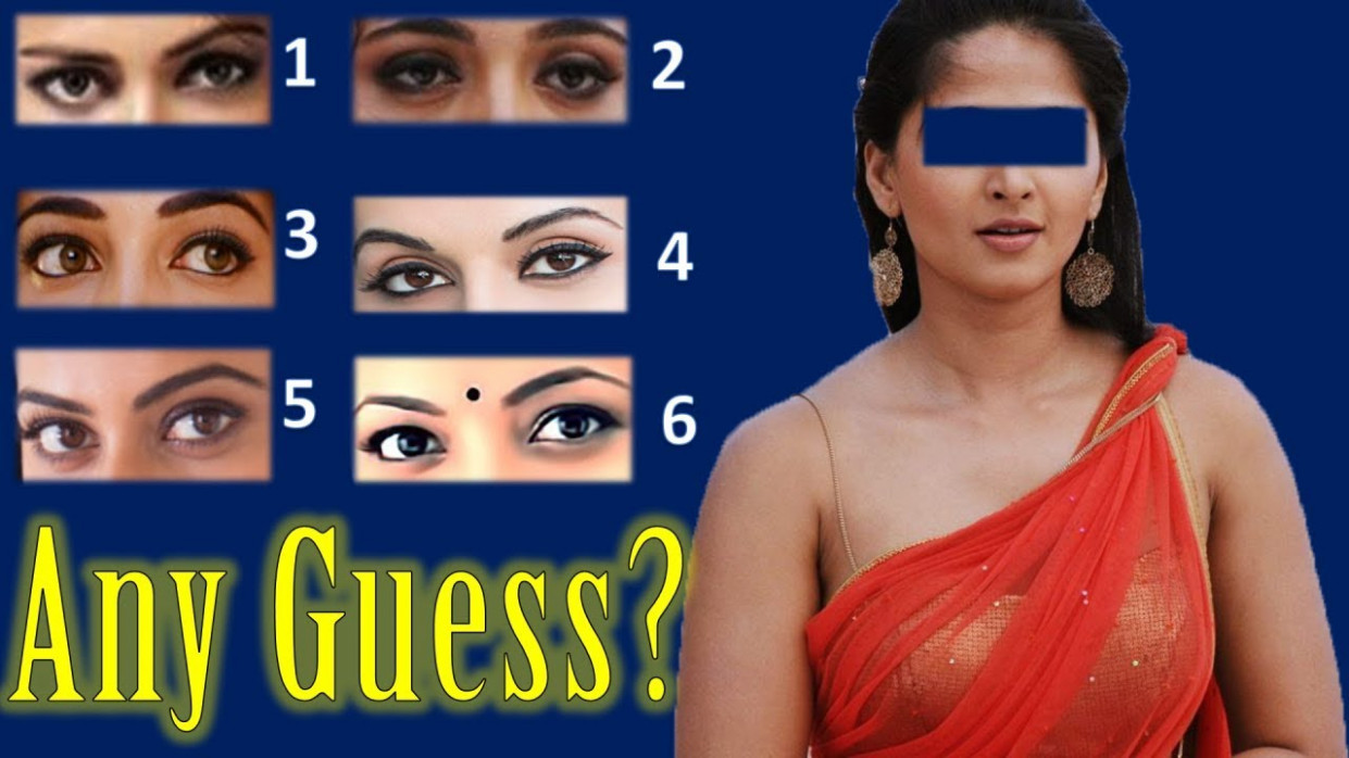 Identify Eyes of the 10 Popular South Indian Actresses ...